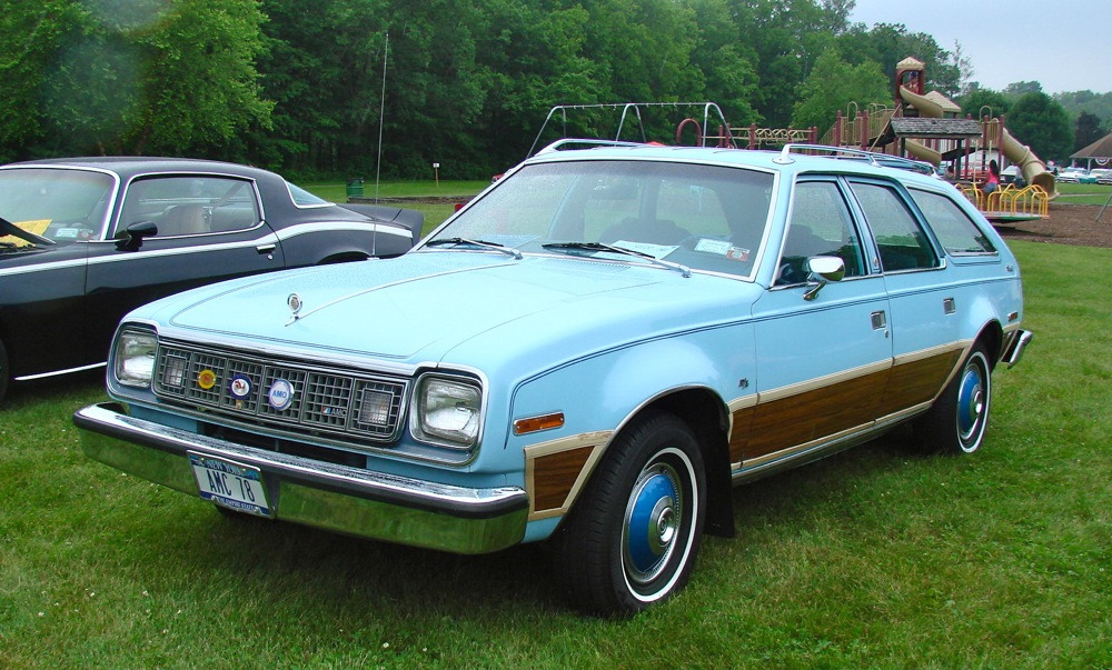 1978 AMC Concord D L Station Wagon Lake Erie Region Car Show Buffalo NY June 2015