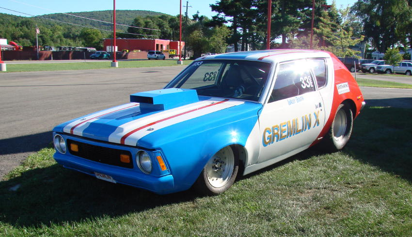 AMC GREMLIN WALLY BOOTH PRO STOCK DRAG CAR CHILSONWILCOX - Chilson wilcox car show