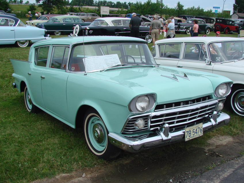 Image result for 1958 rambler deluxe