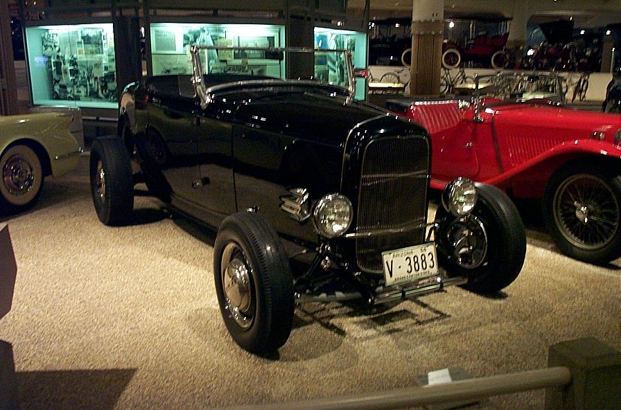 FORD HOT ROD HIGH BOY HENRY FORD MUSEUM DEARBORN MI - Henry ford car show